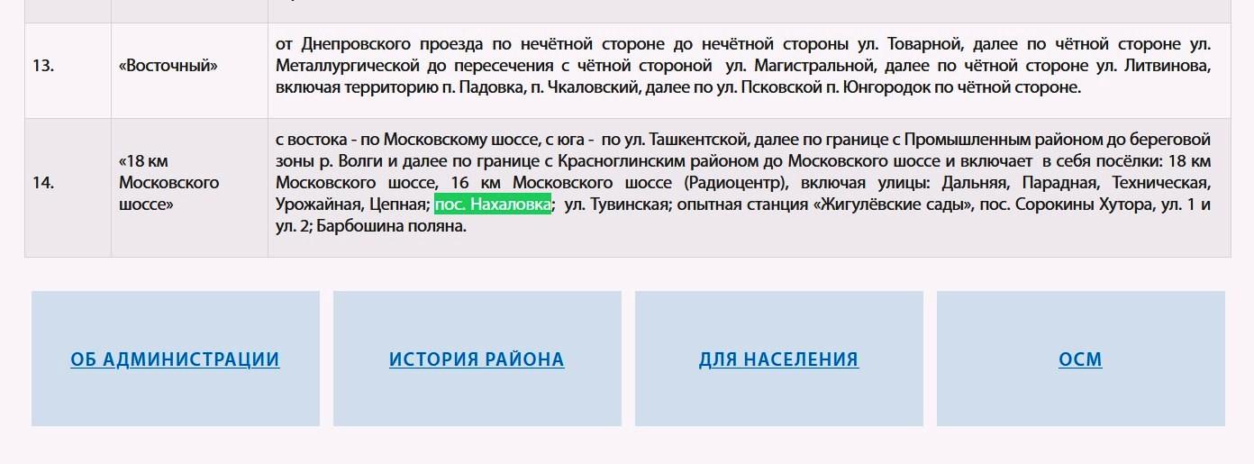 Поселок Нахаловка