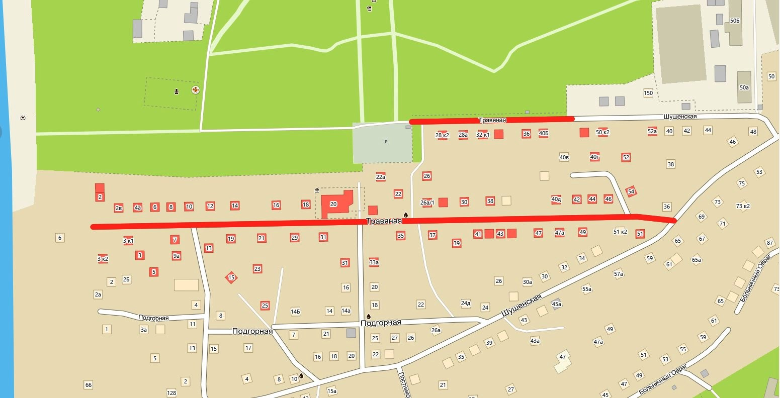 Улица Травяная Самара