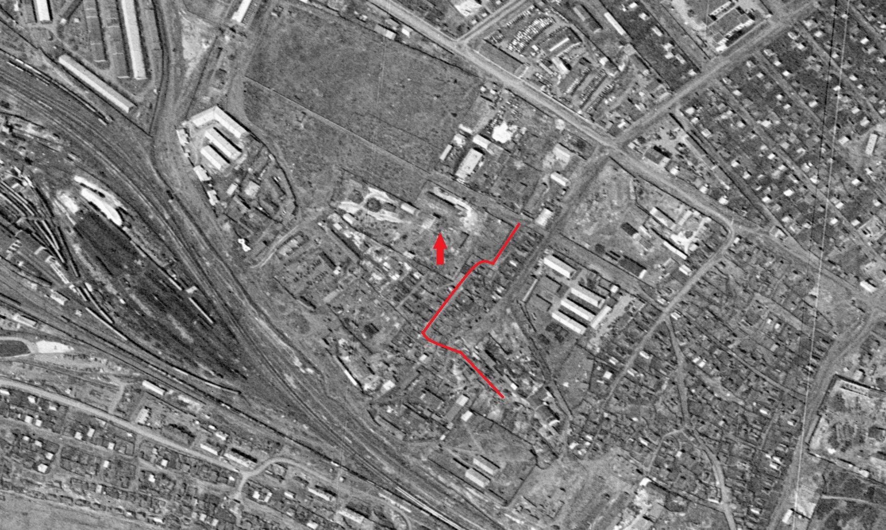 Улица Трехгорная в 1965 году