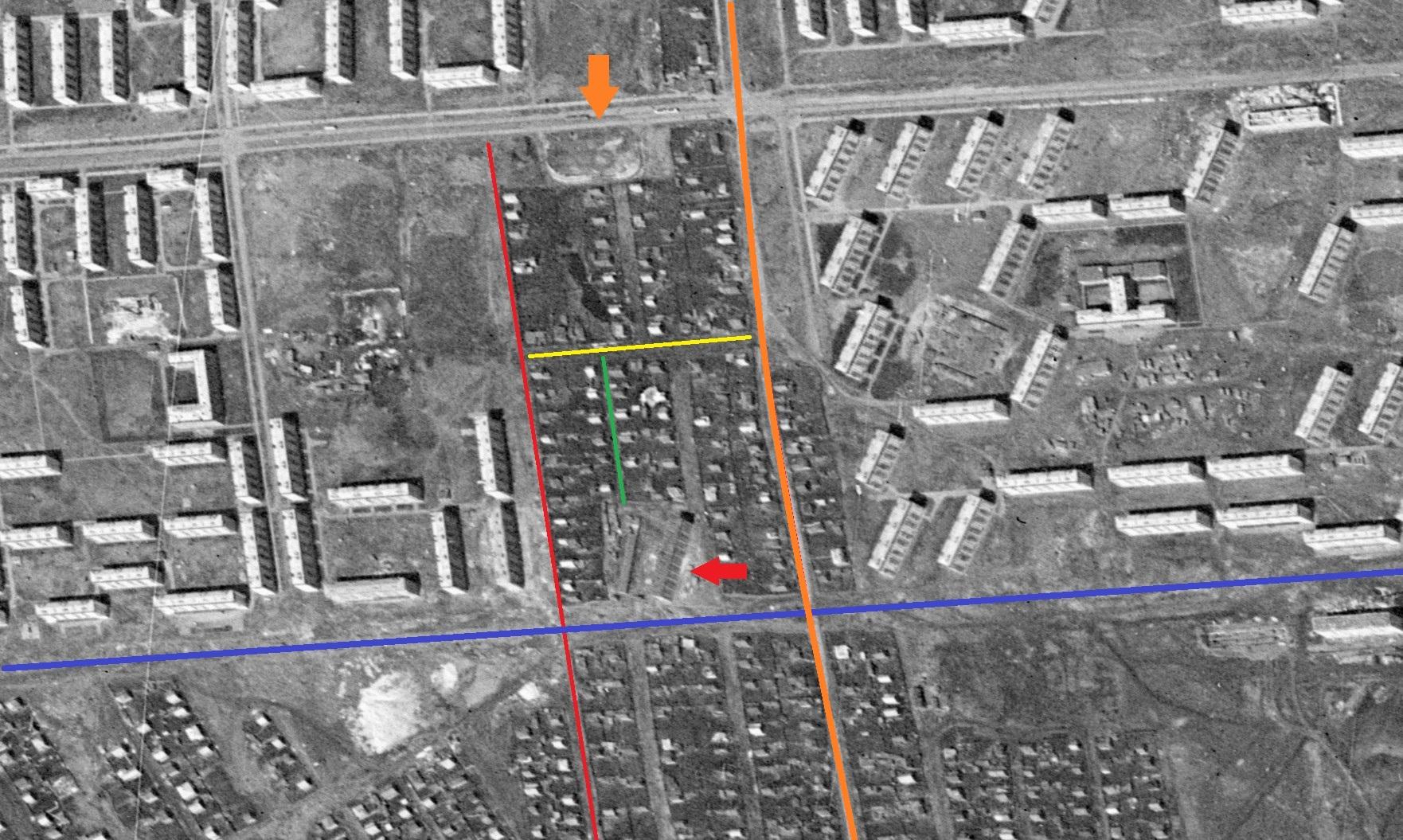 Улица-Тушинская-в-1965-году. Куйбышев