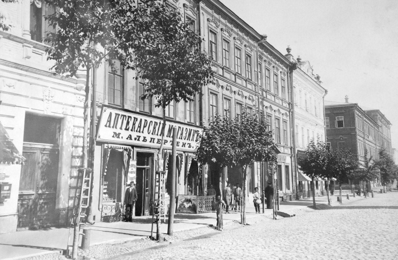 Гостиница Сан-Ремо на улице Дворянской