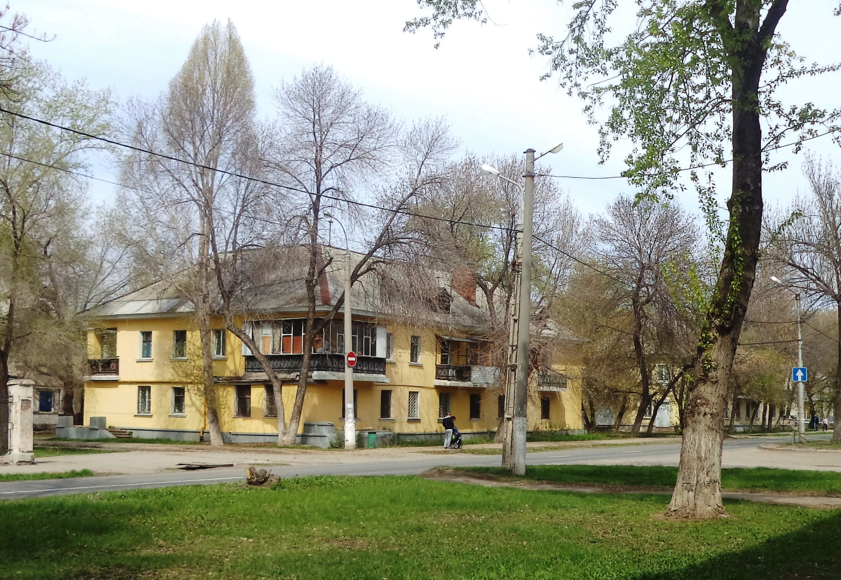 Дома №16 и 18 по улице Фасадной
