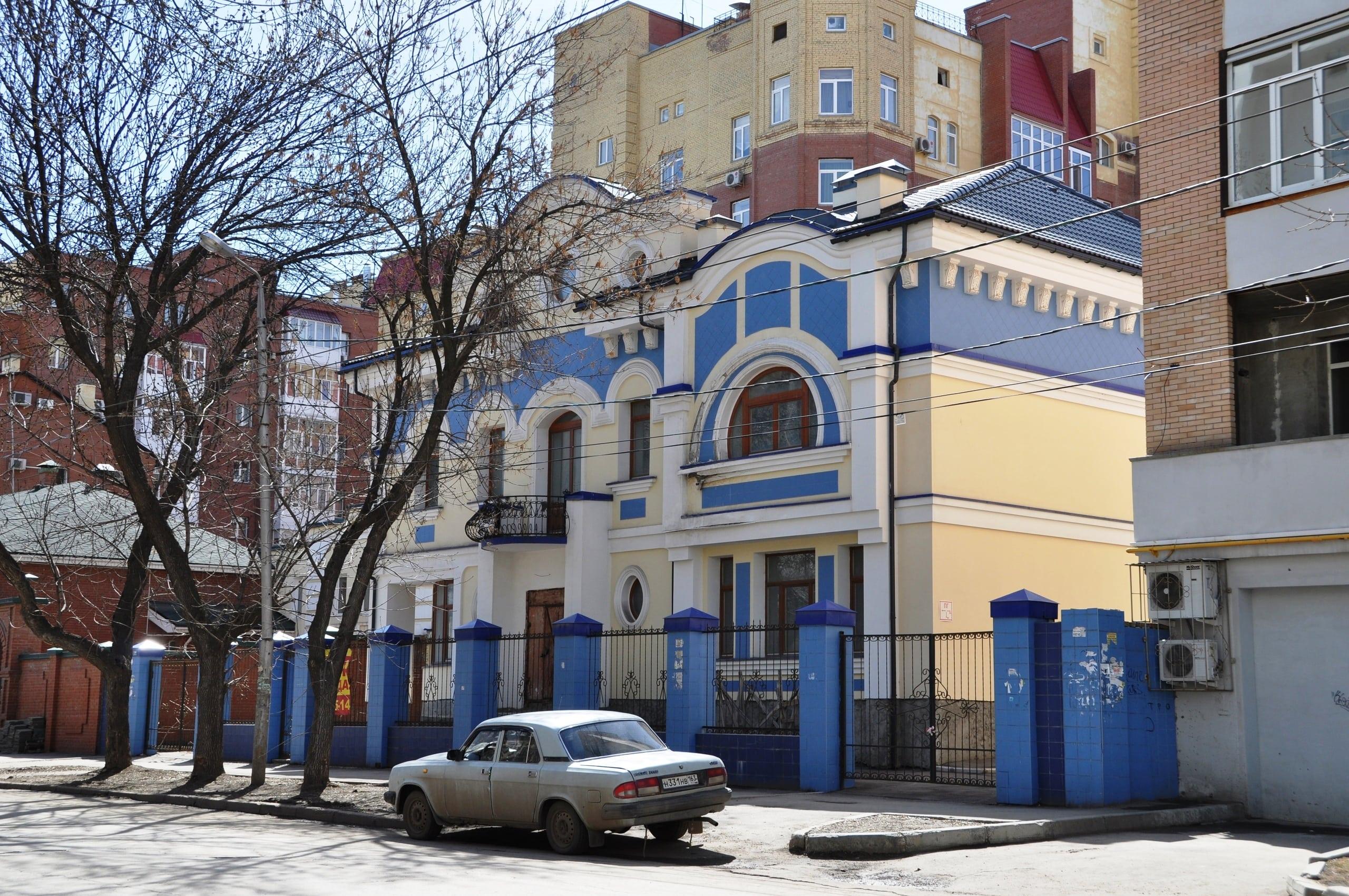 Особняк на улице Ульяновской-47