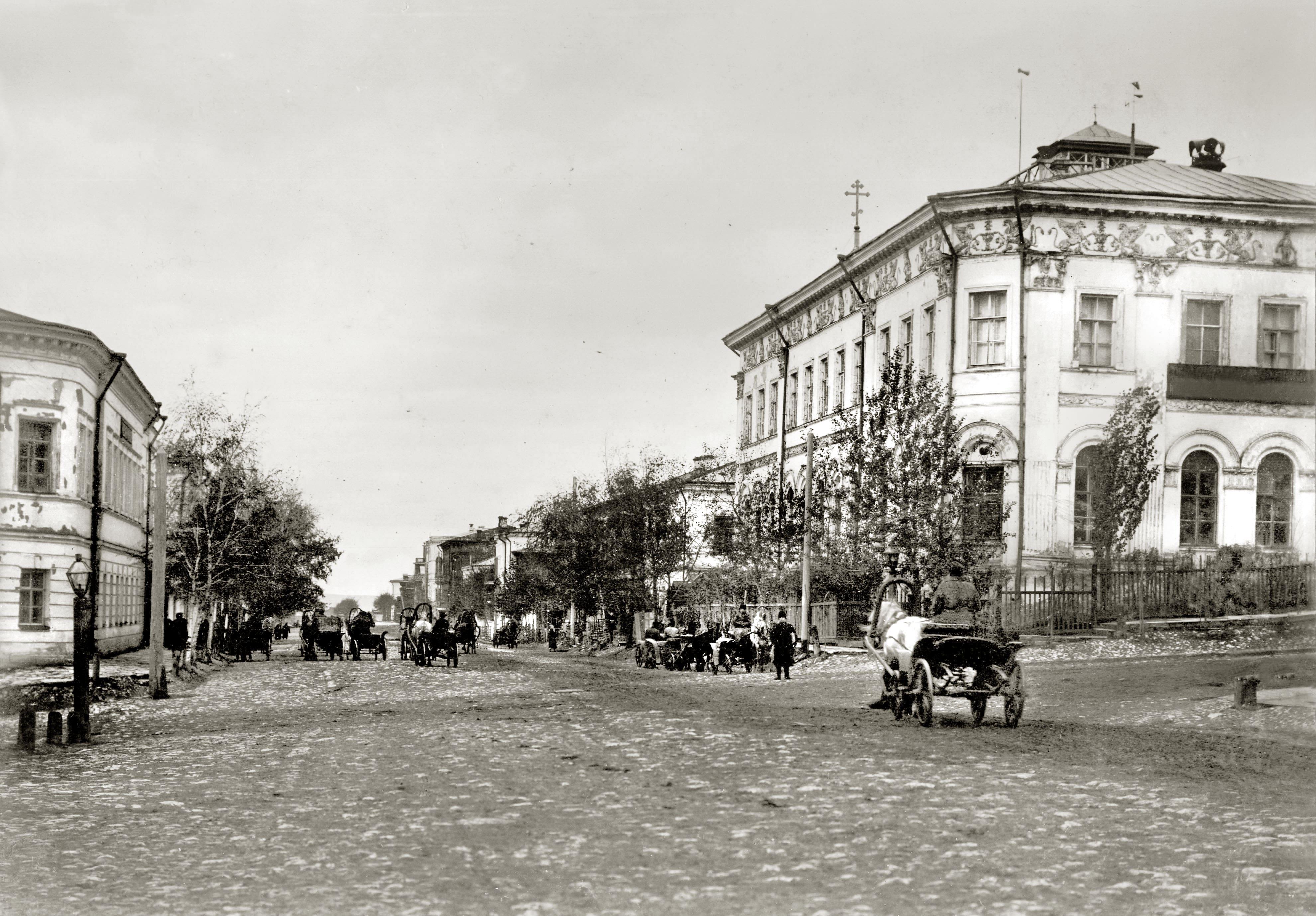 Реальное училище в котором учился Алексей Толстой