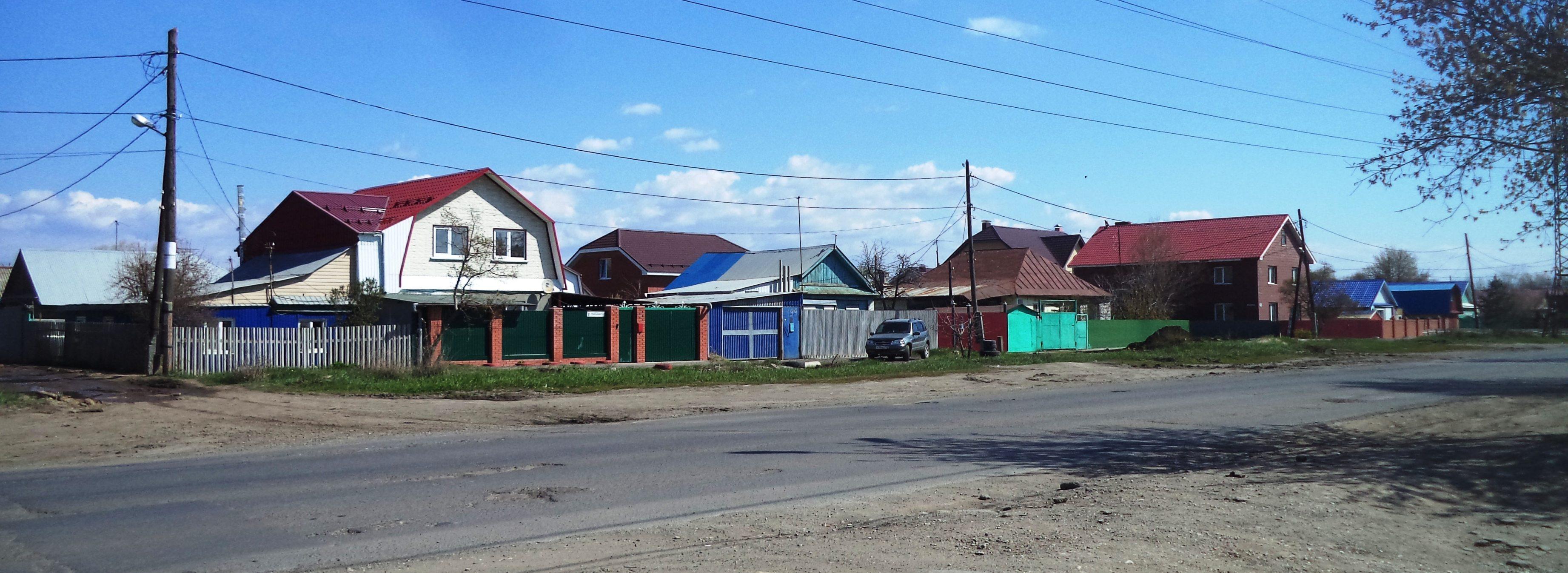 Улица Уральская в Самаре (2)