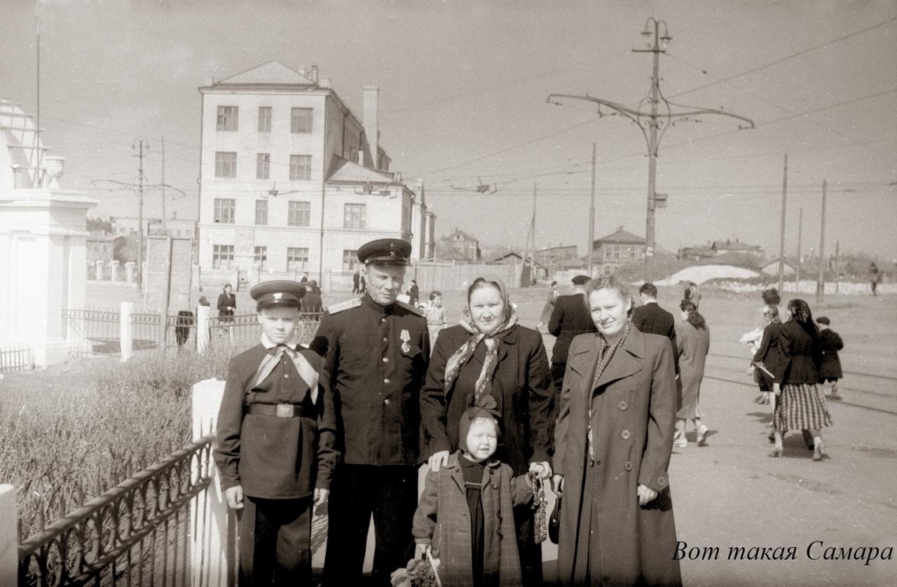 Улица Урицкого и парк Щорса