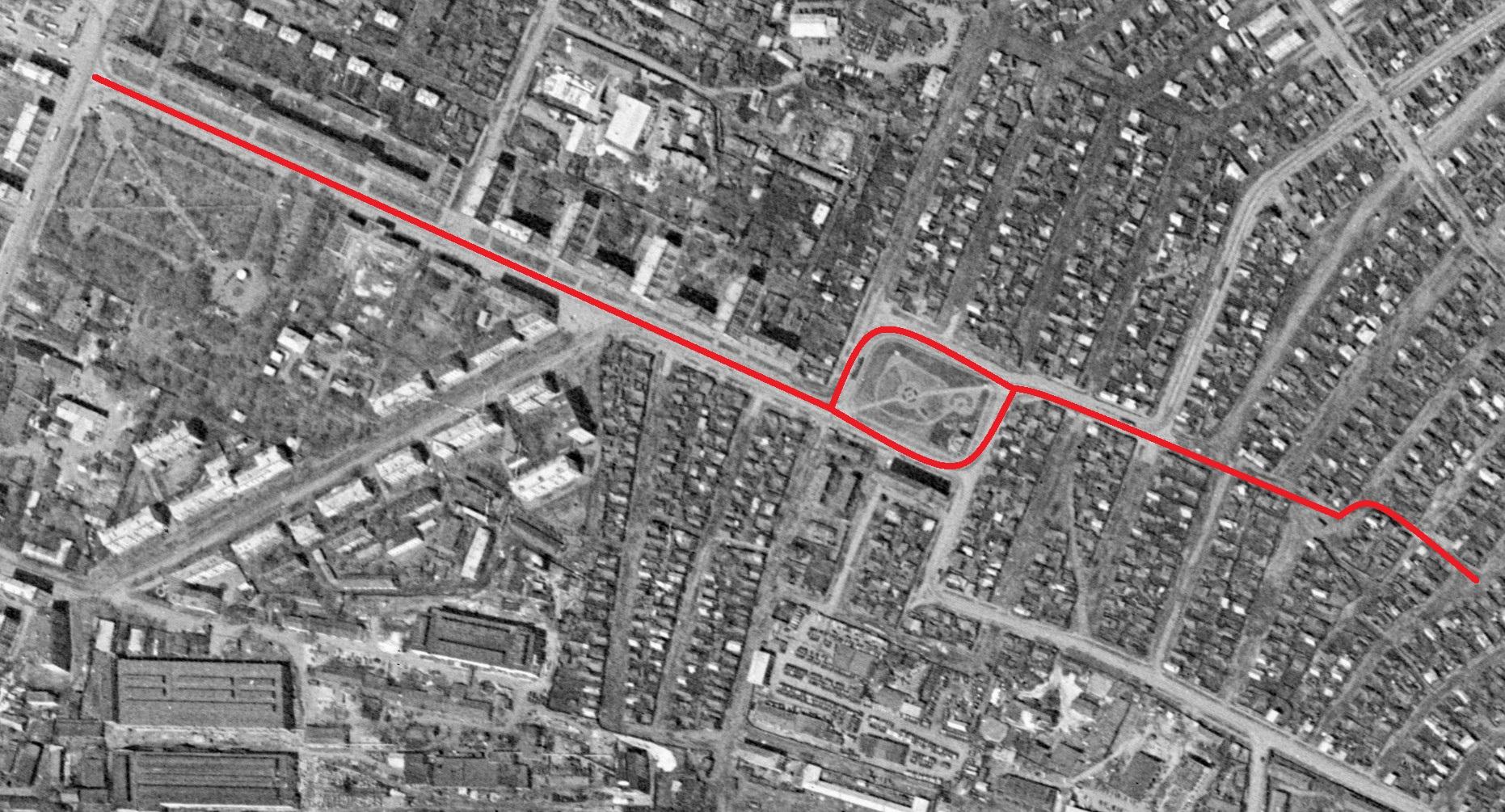 Улица Урицкого 1965 год