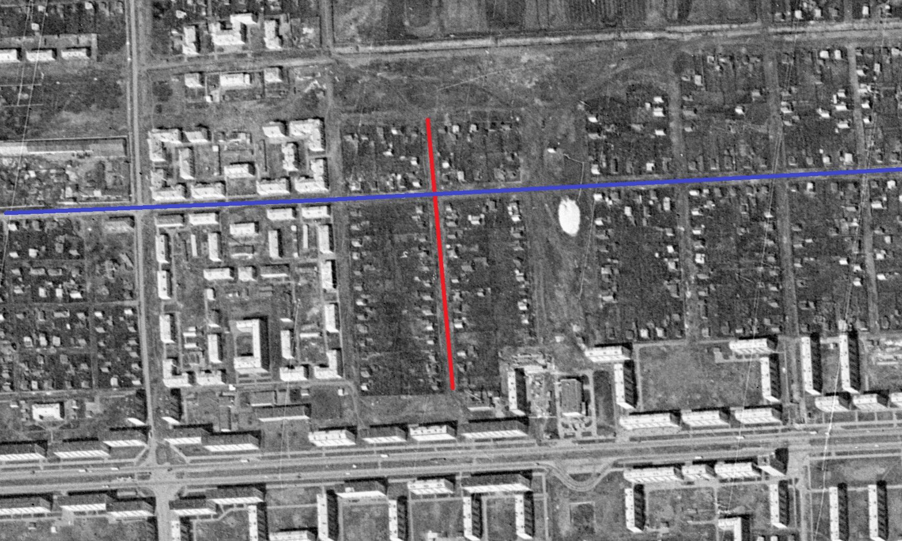 Улица Уссурийская 1965 год