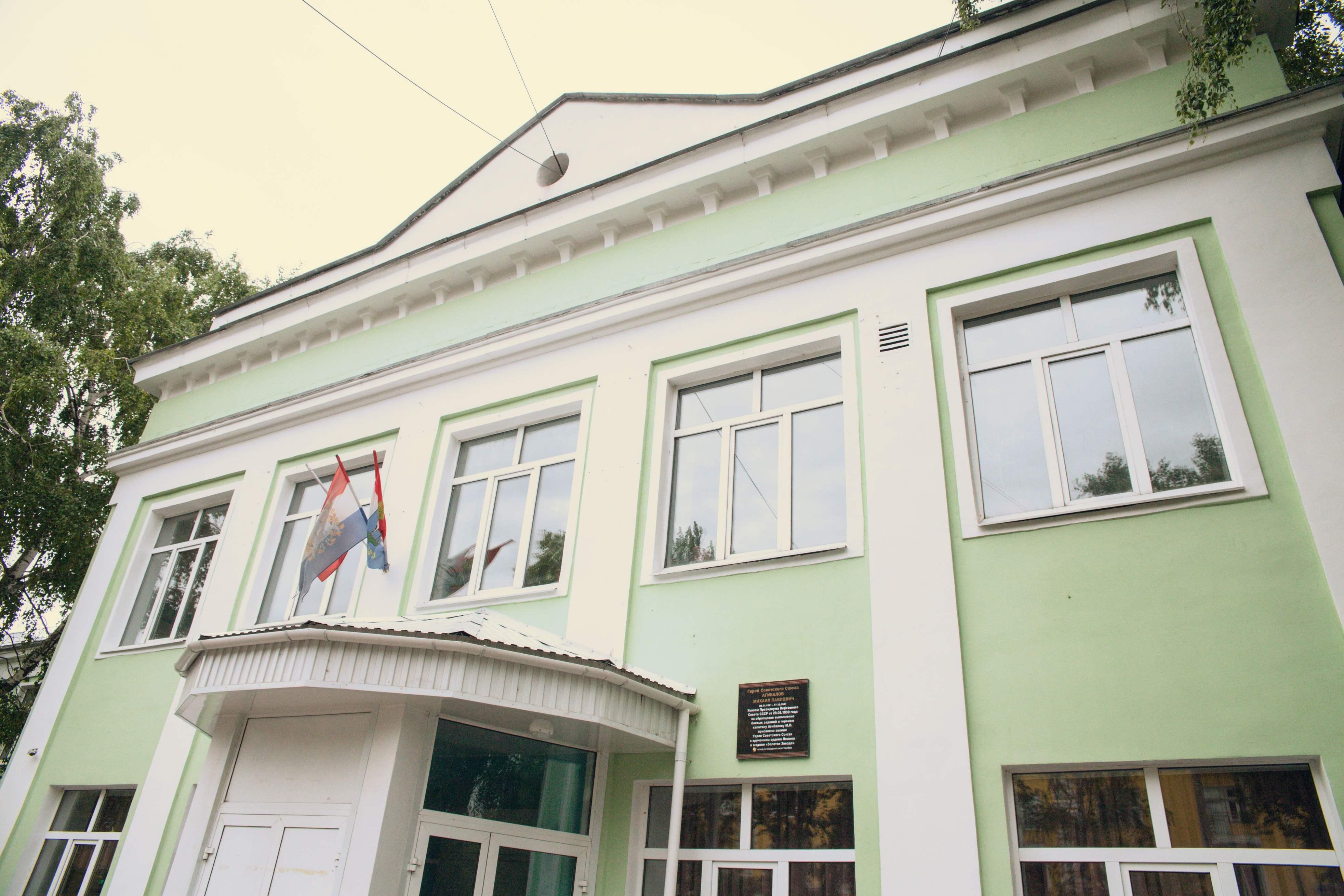 Школа на улице Урицкого