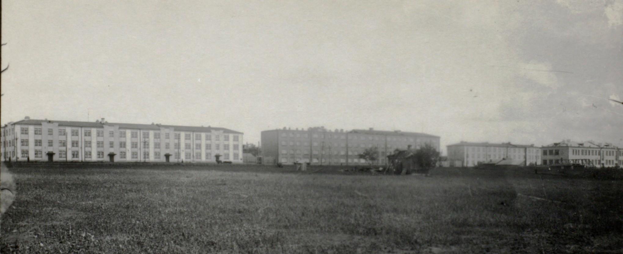 1930-е годы дома на улице Урицкого