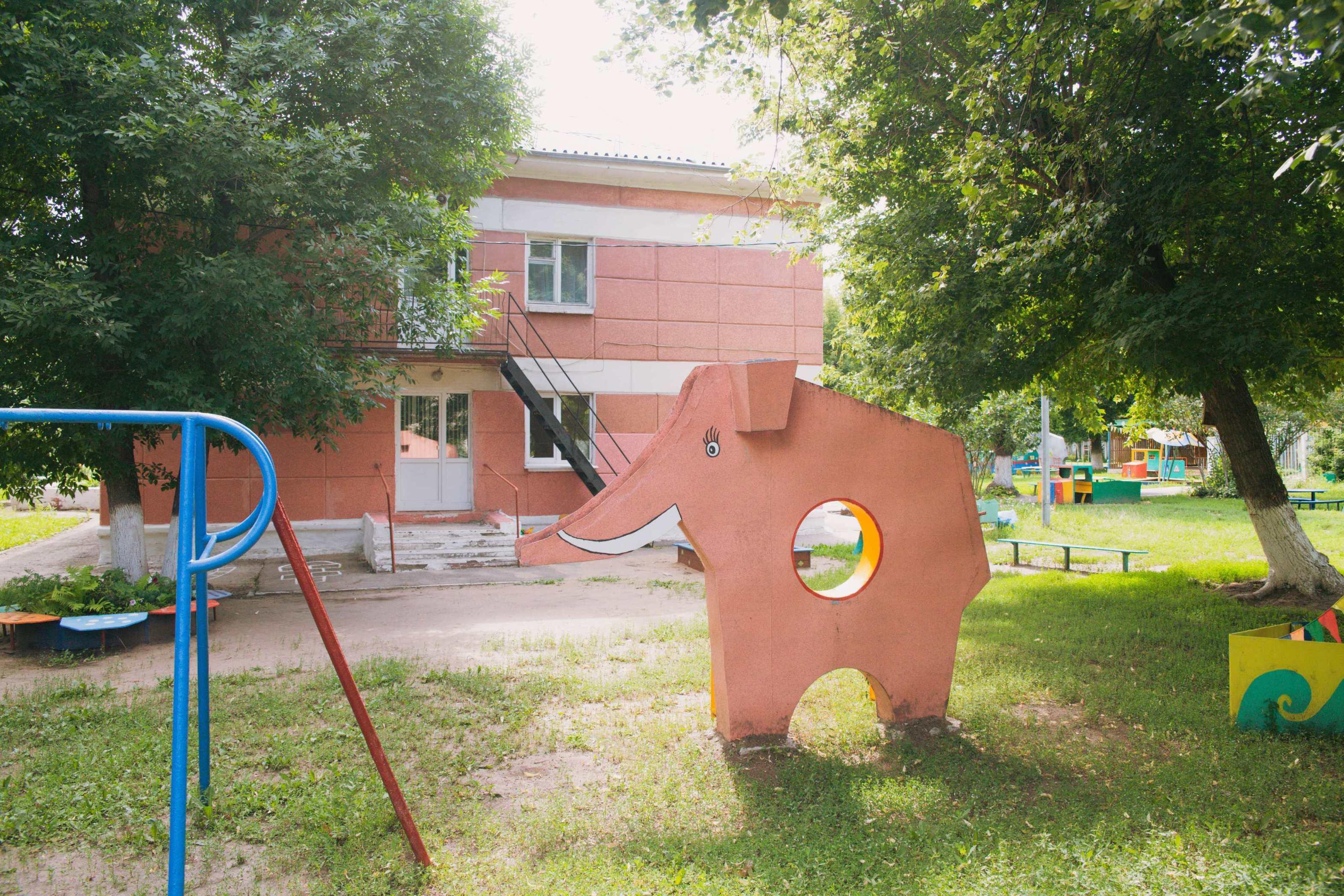 Жестяной слон Безымянки