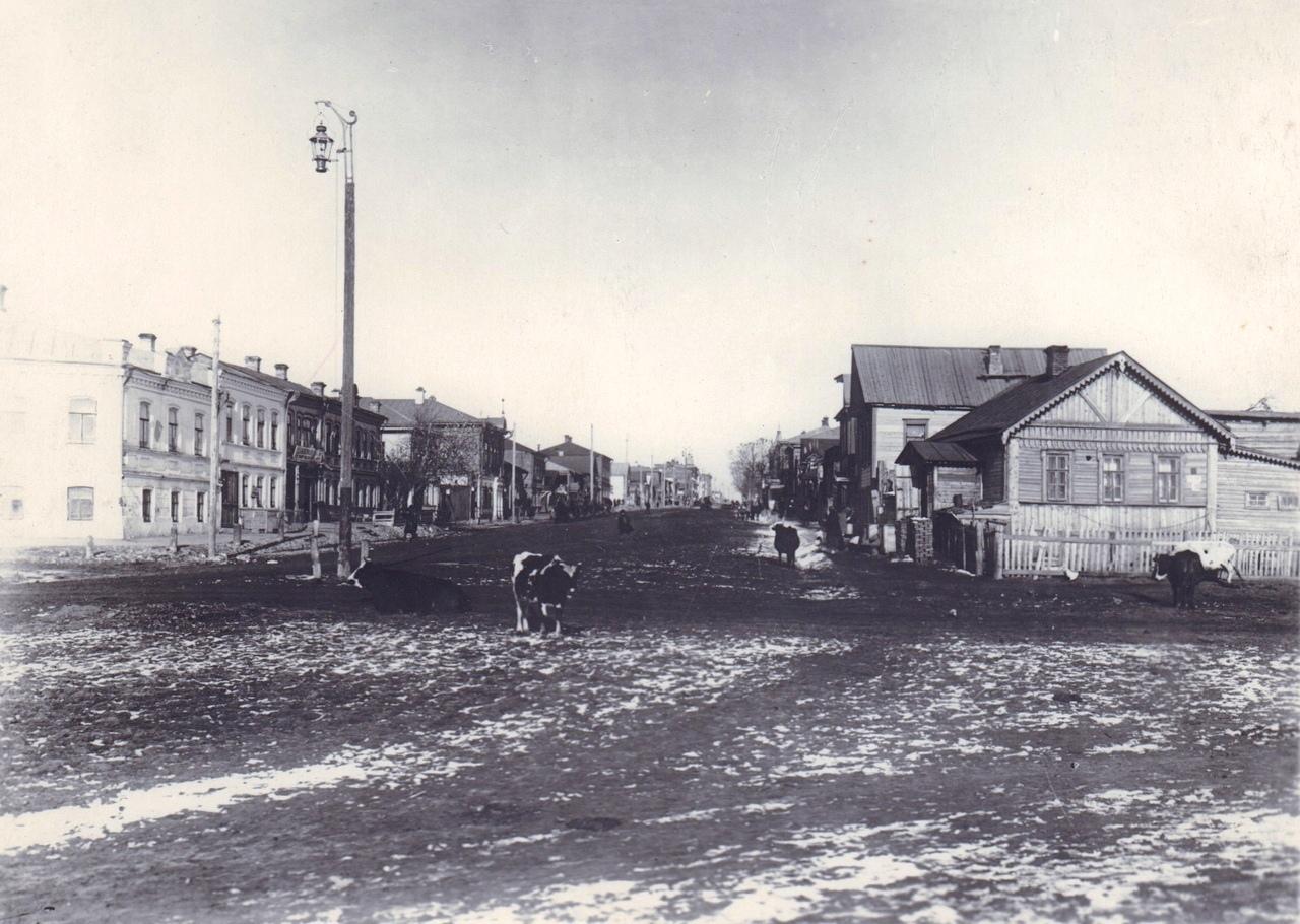 Начало улицы Фрунзе