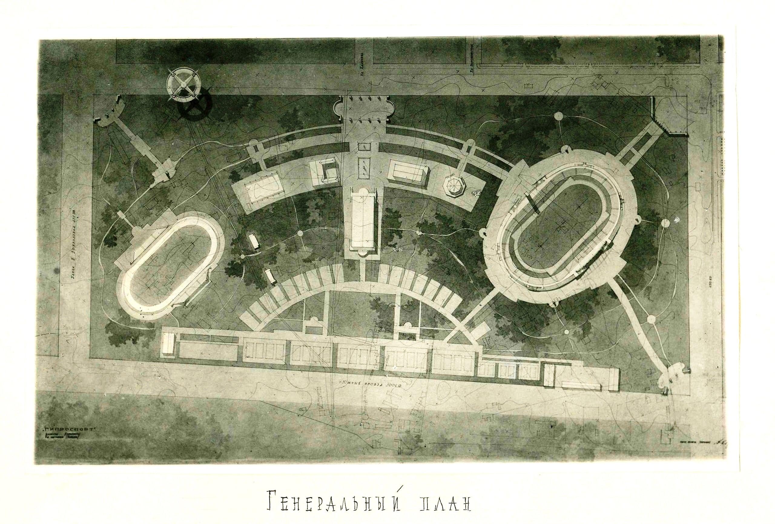 Нереализованный проект стадиона Крылья Советов