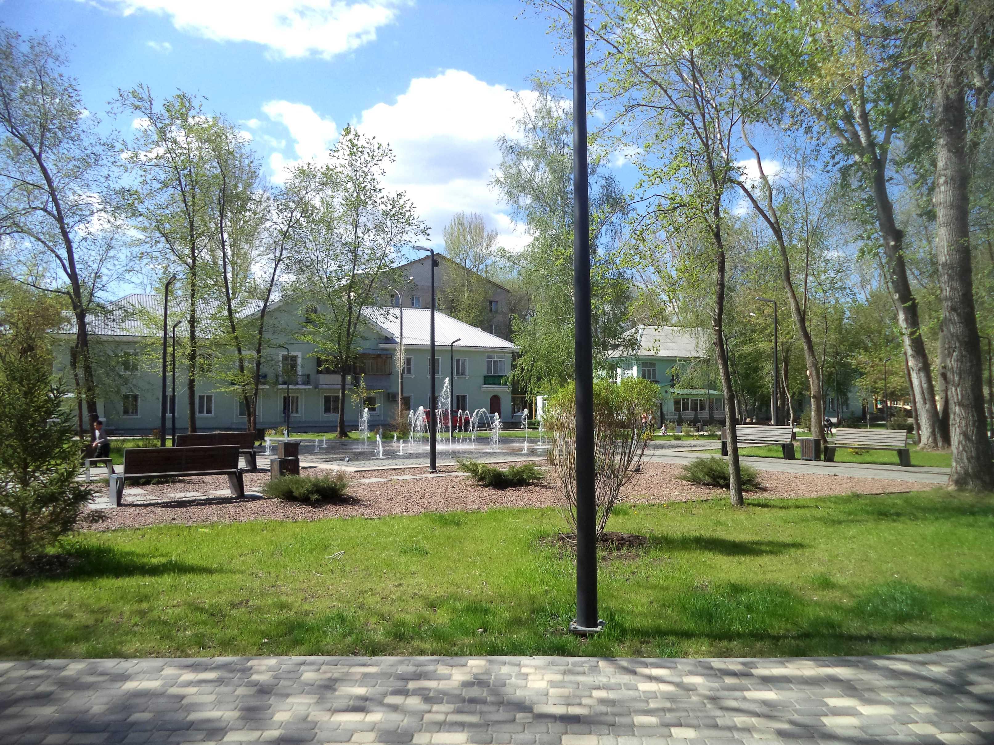Сквер Речников Сухая Самарка