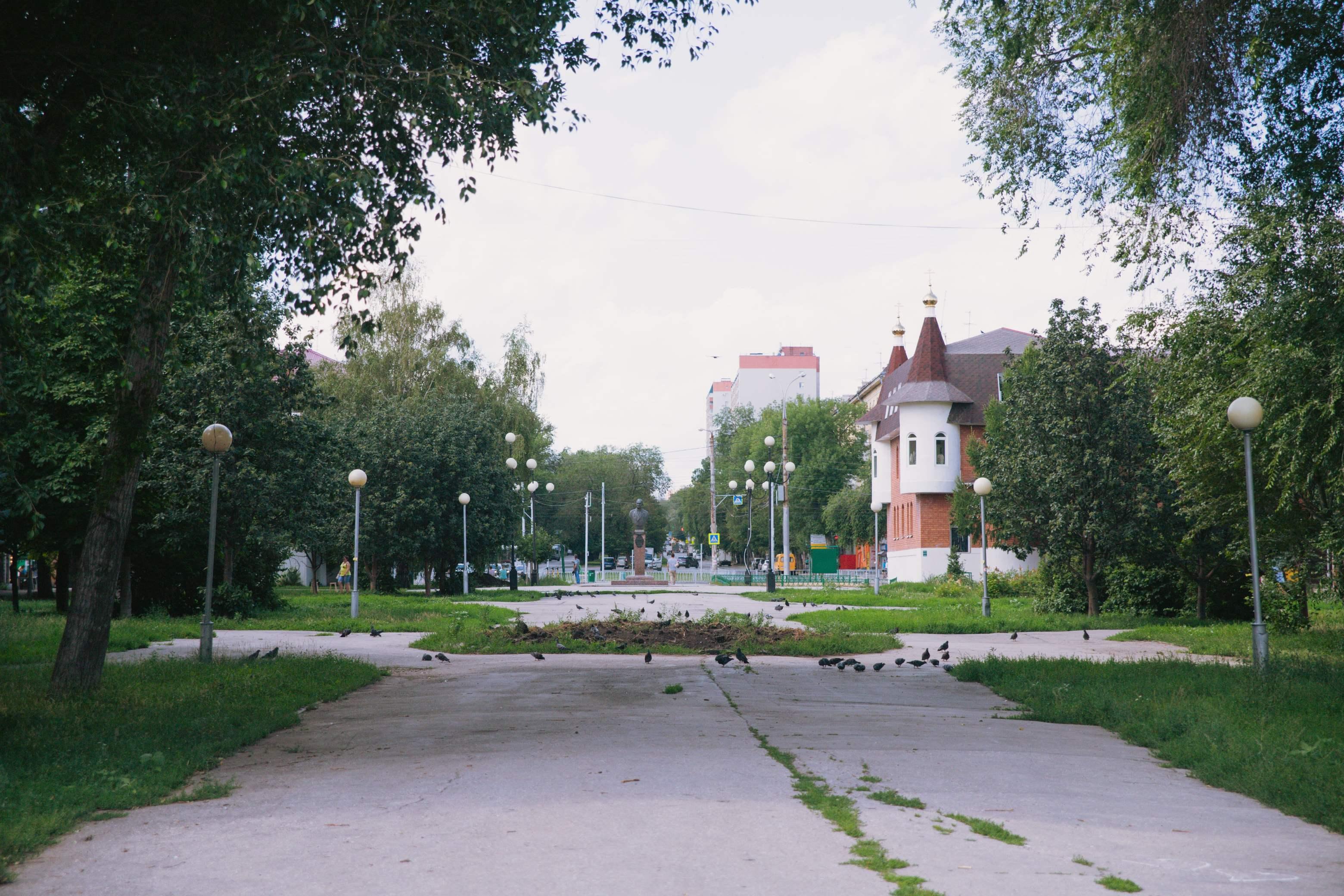Сквер с бюстом Кузнецова