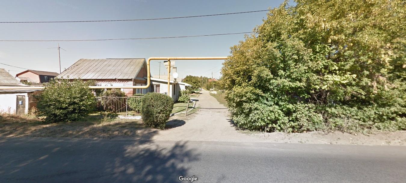 Улица Фонарная со стороны Литвинова