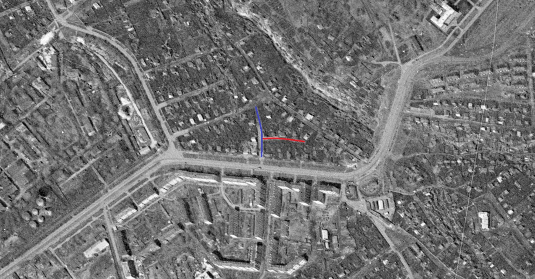 Фрезерный переулок в 1965 году