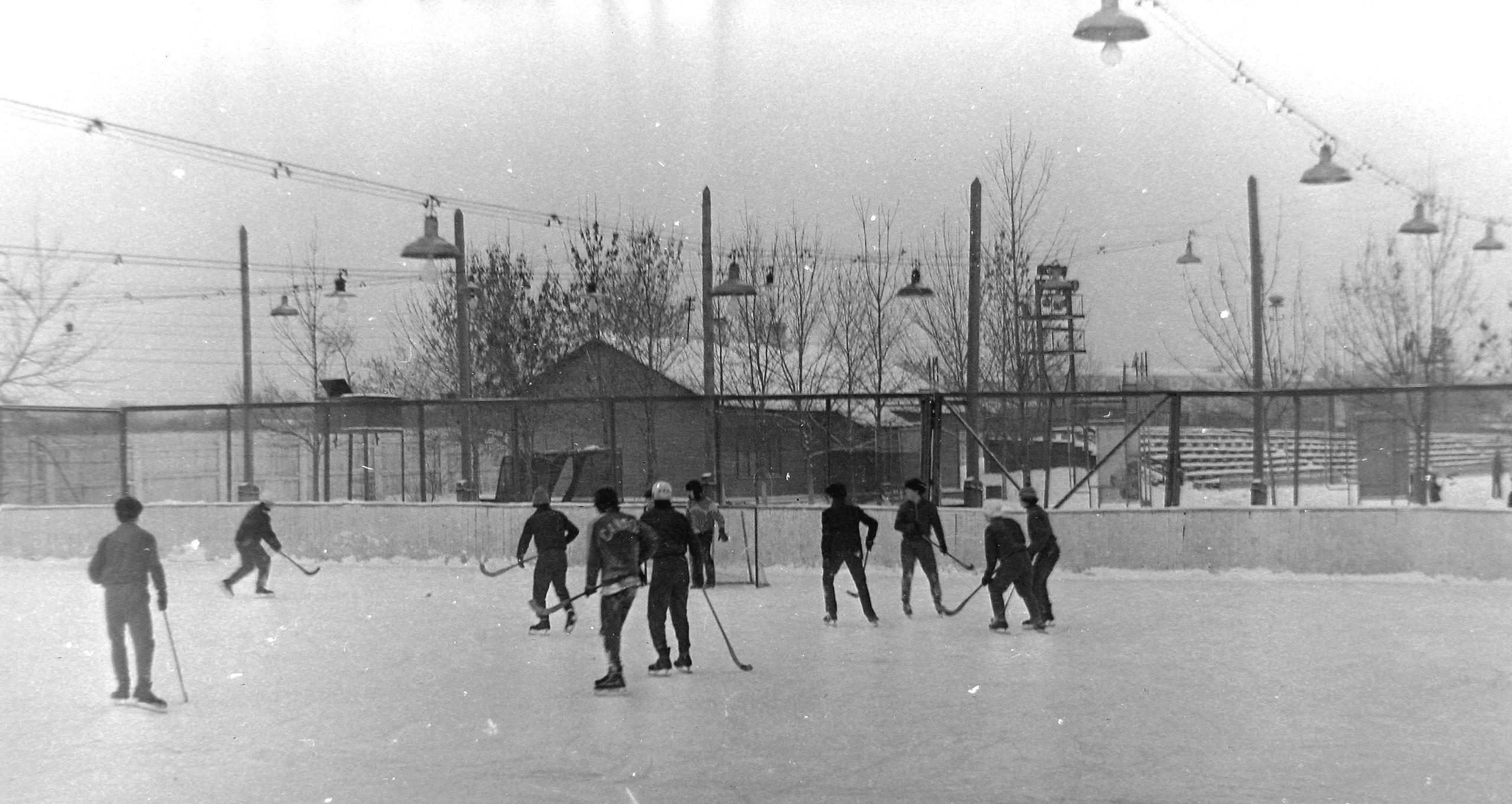 Хоккейная калда стадиона Крылья Советов