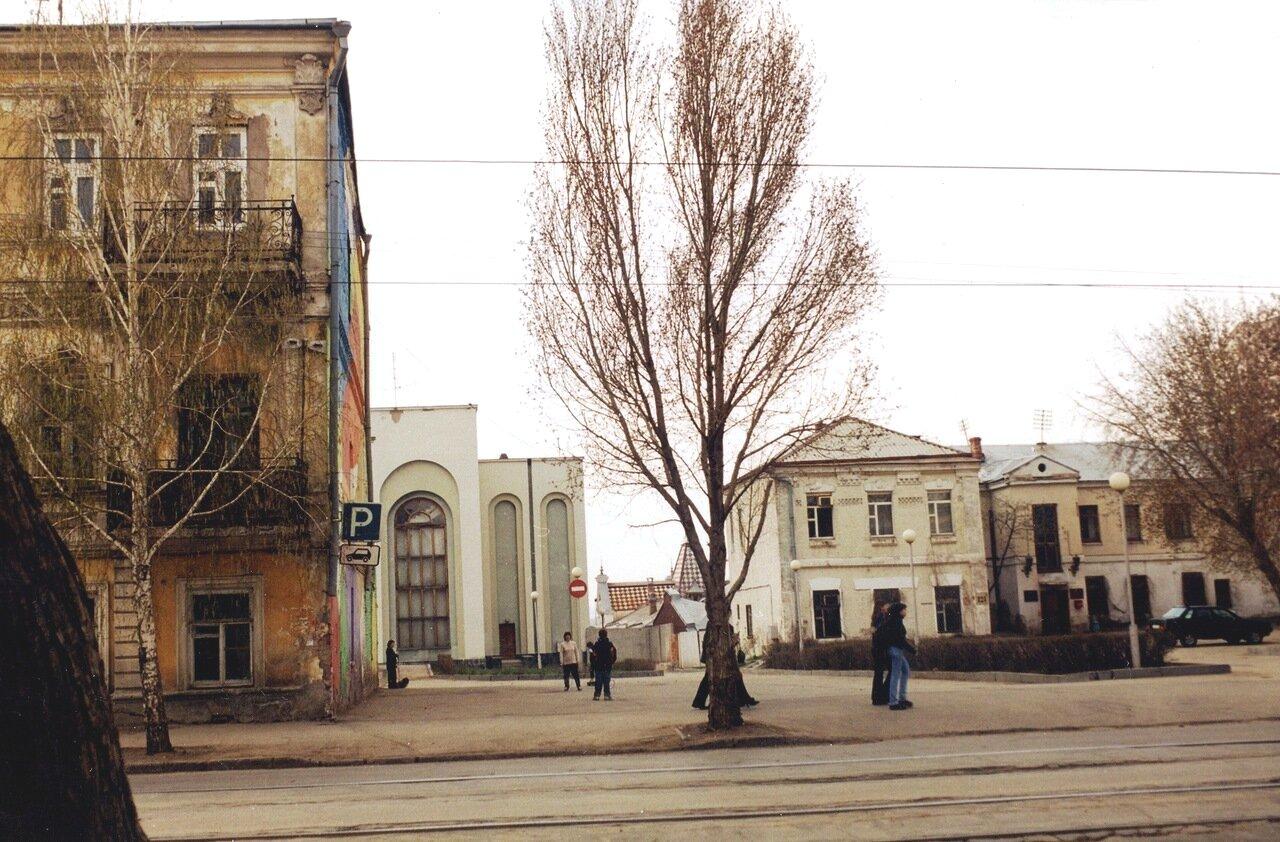 Будущий сквер имени Рязанова