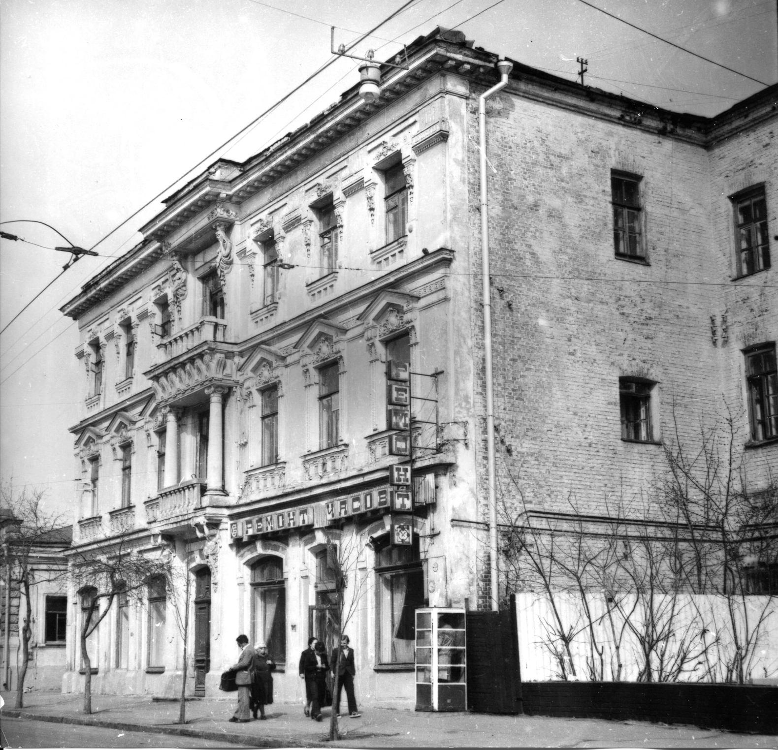 Дом Петра Подбельского