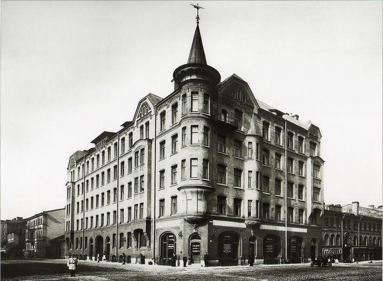 Доходный дом Карла Шмидта в Санкт-Петербурге