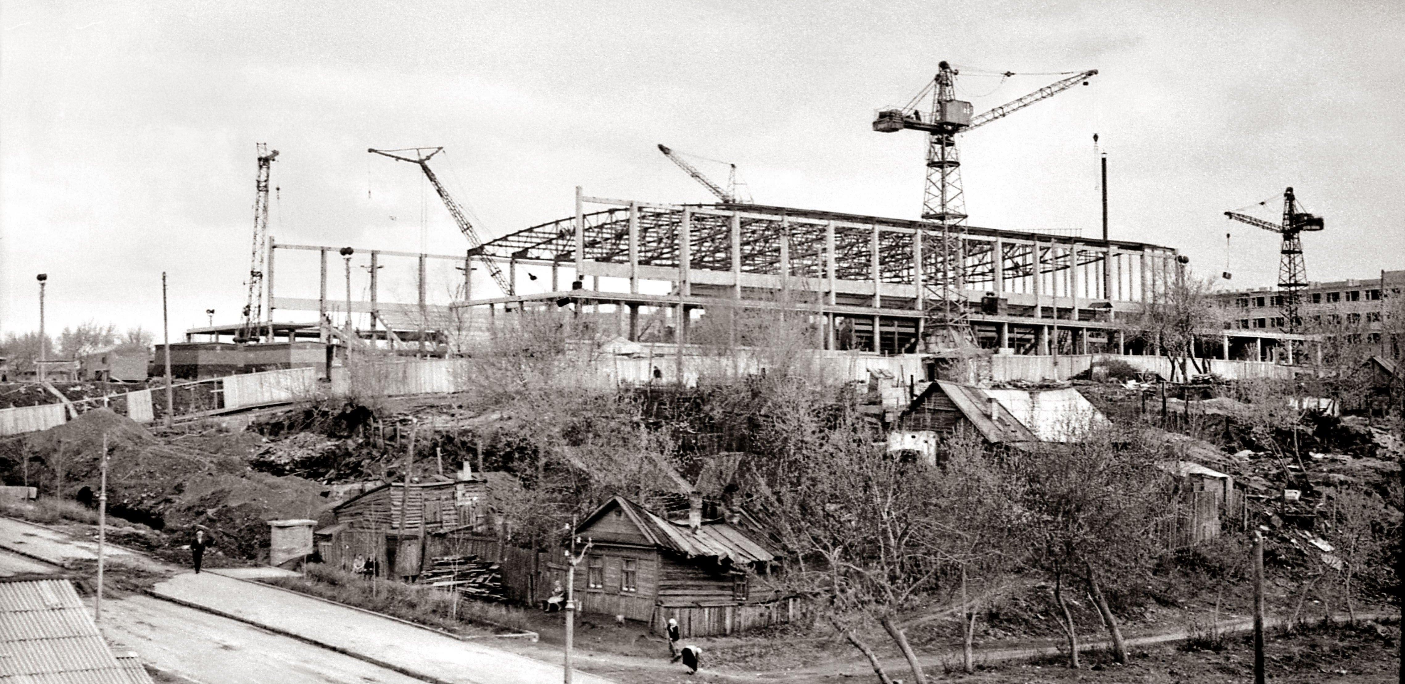 Строительство Ледового дворца спорта в Самаре