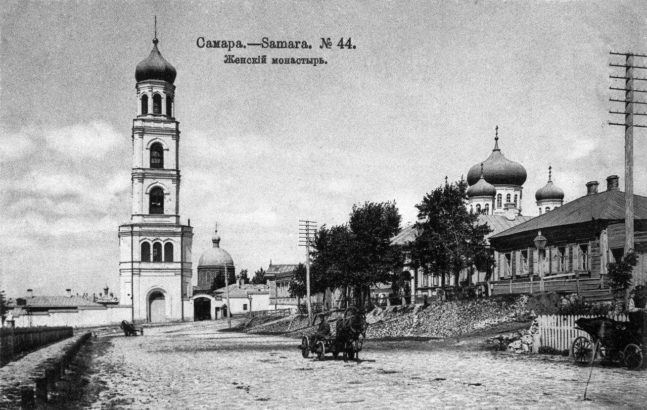 Улица Фрунзе вид на Иверский монастырь