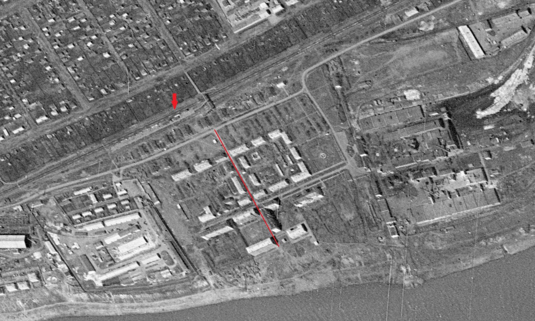 Хибинский переулок в 1965 году