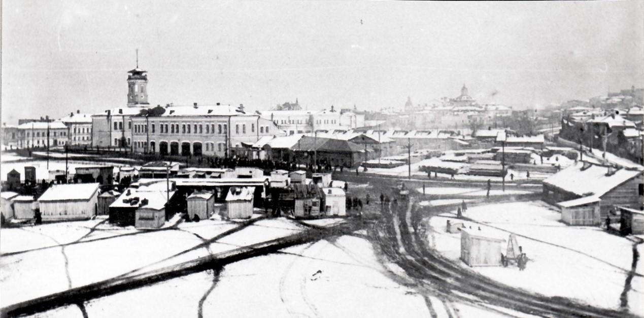 Хлебная площадь в начале 1930-х годов