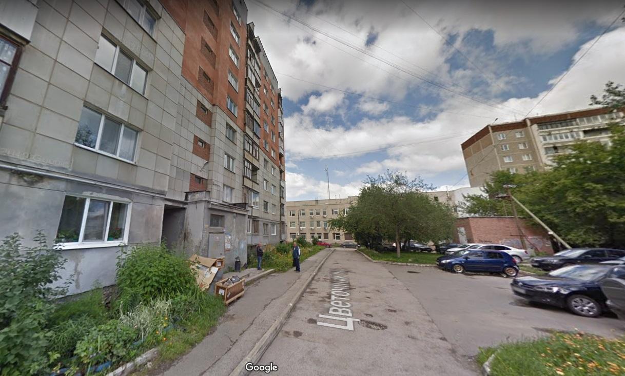 Цветочный переулок в Екатеринбурге