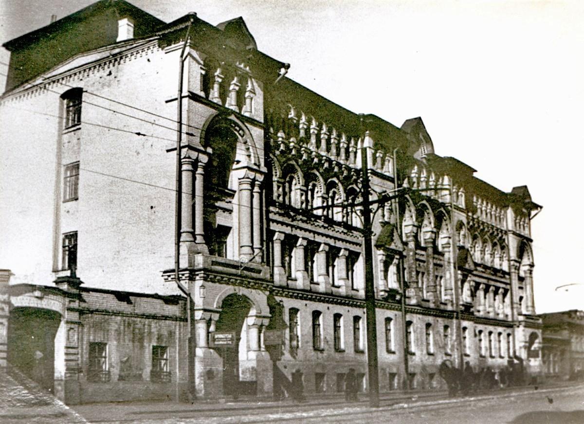 Челышевская баня на улице Саратовской