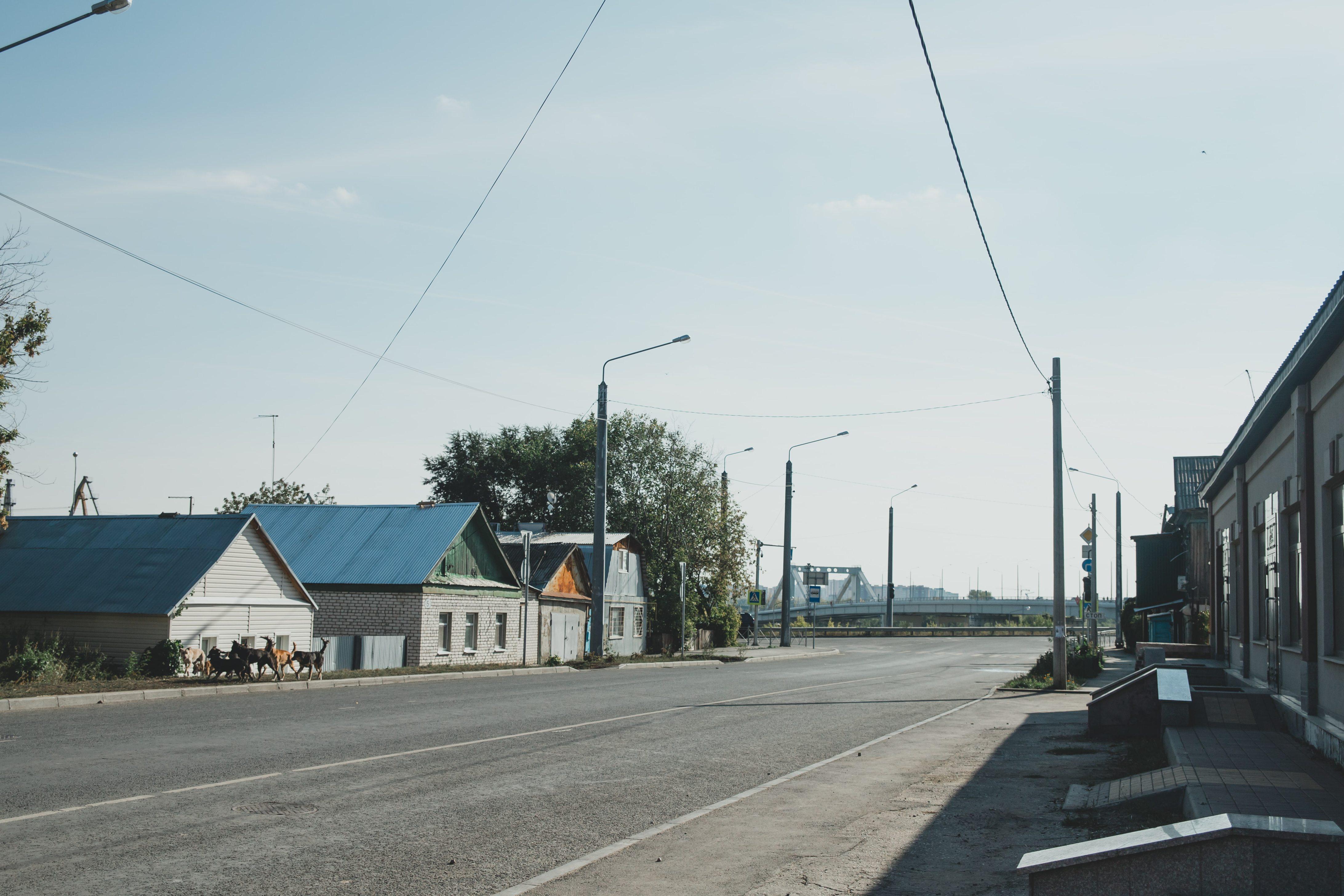 Начало улицы Чапаевской
