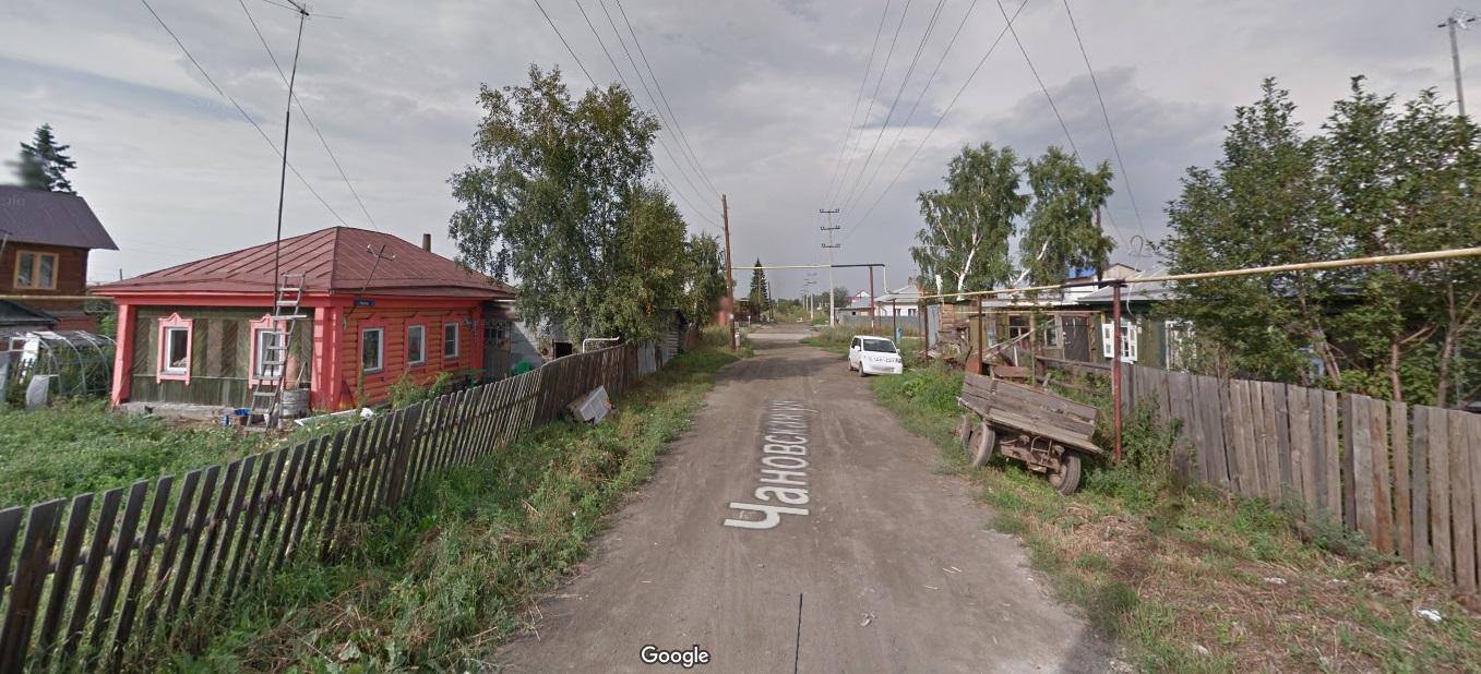 Улица Чановская в Новосибирске
