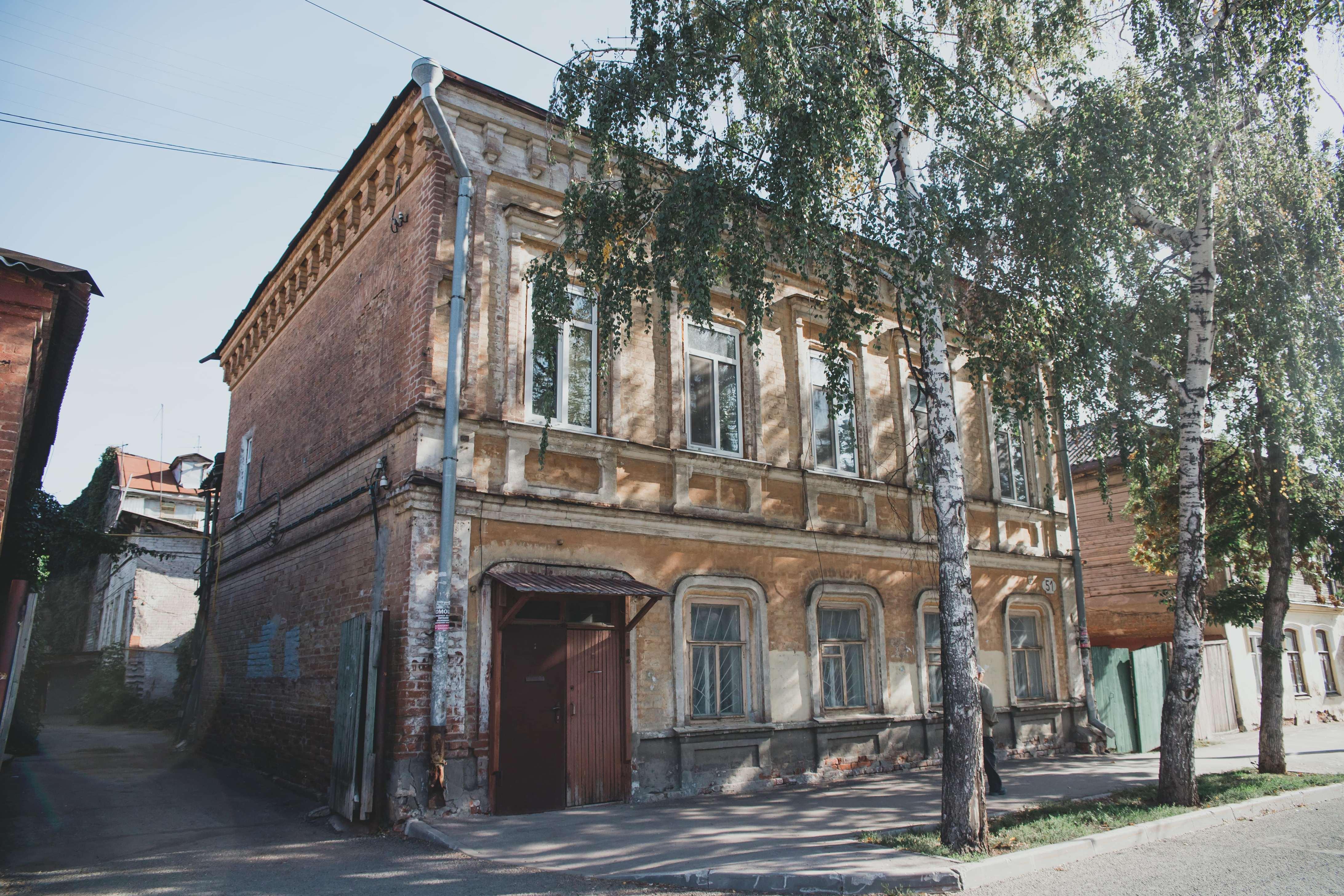 Чапаевская 51 дом в котором жил Симонов