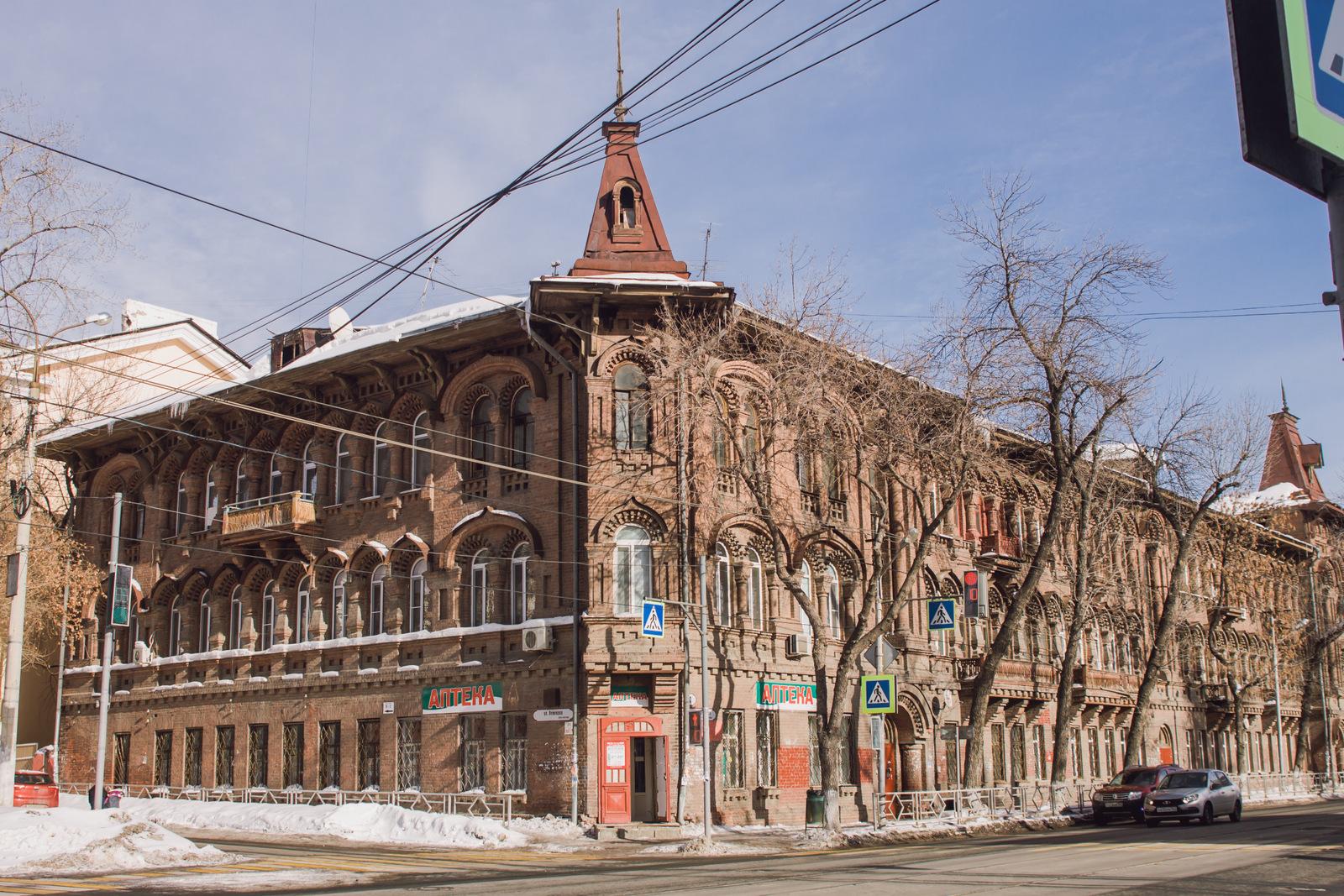 Челышевский-дом